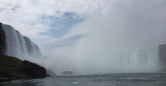 Niagara Falls on the boat