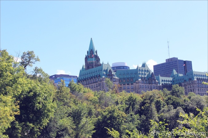parliament hill from far