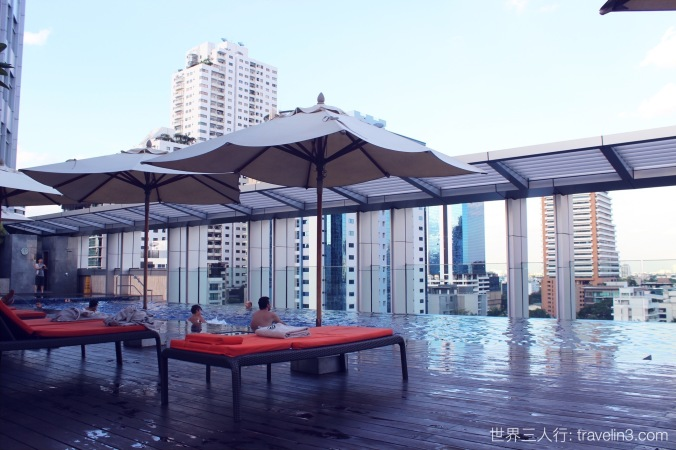 bangkok marriott hotel swimming pool 2